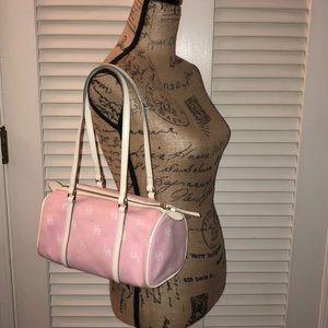 Dooney and Bourke Baby Pink Barrel Bag